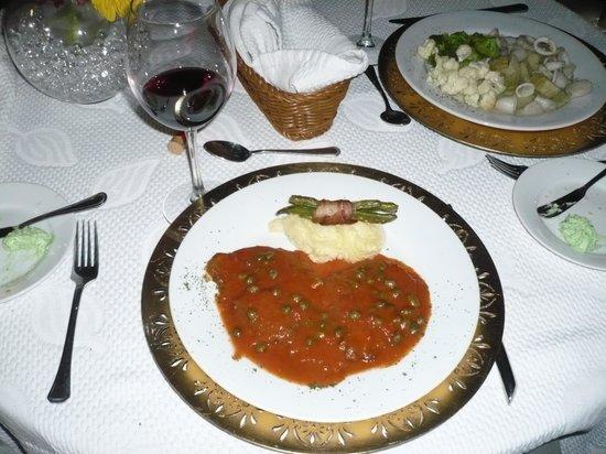 Ristorante La Piazzetta: Steak fillet with capers