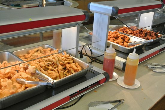 Lee Garden Plaza: Sky Buffet - Tempura