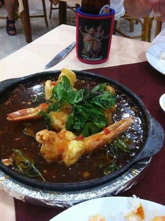 Long Table Restaurant: Prawn Dish