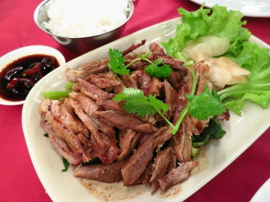 Patong Seafood : roasted duck