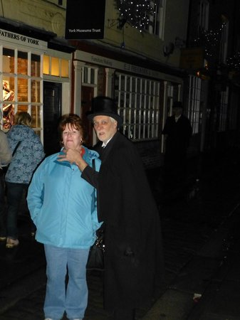 The Ghost Hunt of York: Mr Andy Dextrous, who'd clearly had enough of me ....