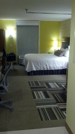 Home2 Suites By Hilton Augusta: Room Sleep Area