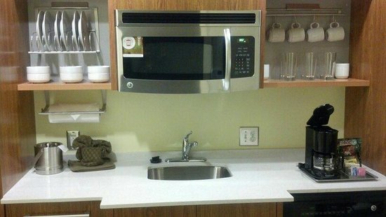 Home2 Suites By Hilton Augusta: Room Kitchen