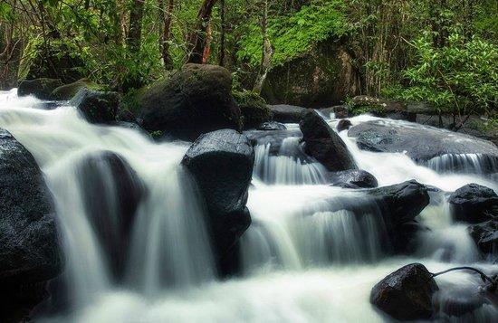 Phu Quoc Waterfall : Suoi Tranh waterval, Phu quoc 1