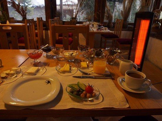 Gulevi Safranbolu : 朝食