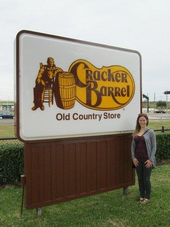 Cracker Barrel: Near Gatorland too.  We didn't go though.