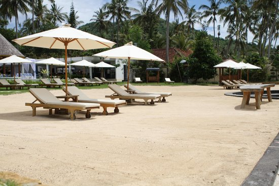 Discovery Candidasa Cottages & Villas : beach area