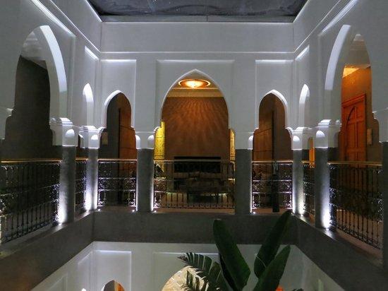 Riad Houma : vue depuis l'étage