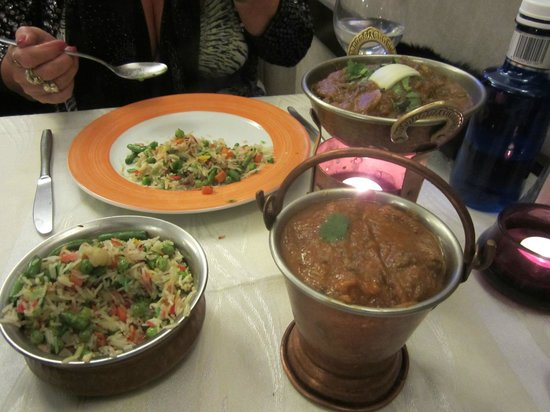 Indian Aroma : Balti In A Bucket