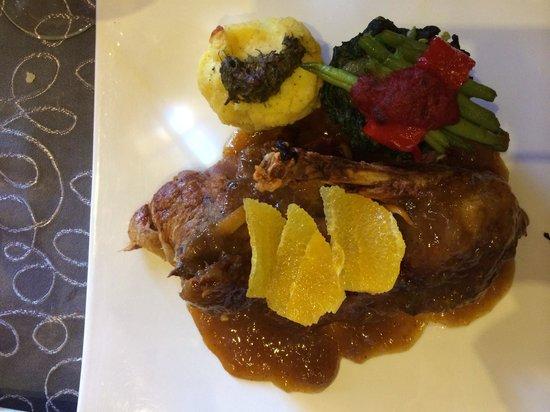 Aroma: Canard a l'orange, suculant