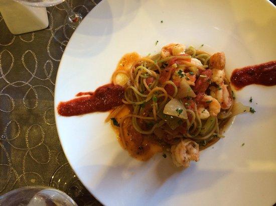 Aroma: Pâtes aux fruit de mer