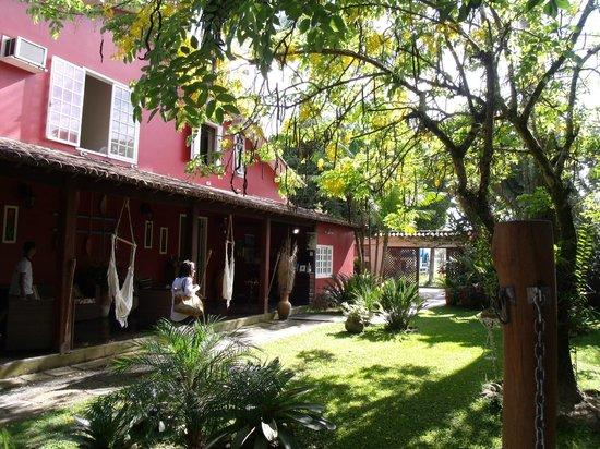 Pousada Palmeira Imperial: Visão da frente da suite