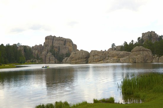 Sylvan lake, South Dakota, near mount Rushmore