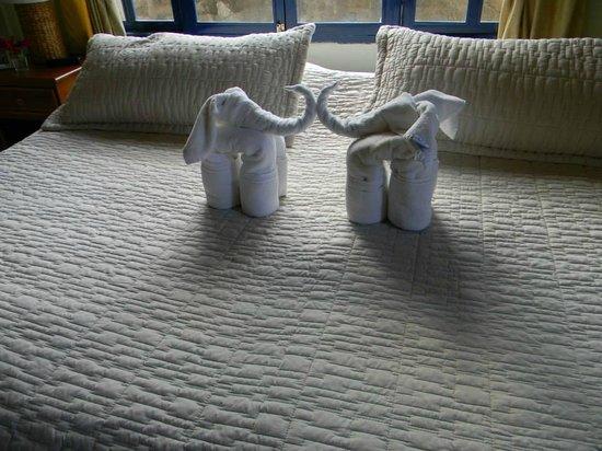 Hotel Fiesta: Las toallas que nos esperan