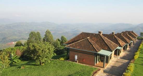 Nyungwe Top View Hill Hotel: The villas and their respective views