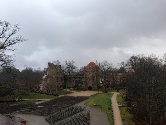 Old Sigulda Castle: Внутри замка