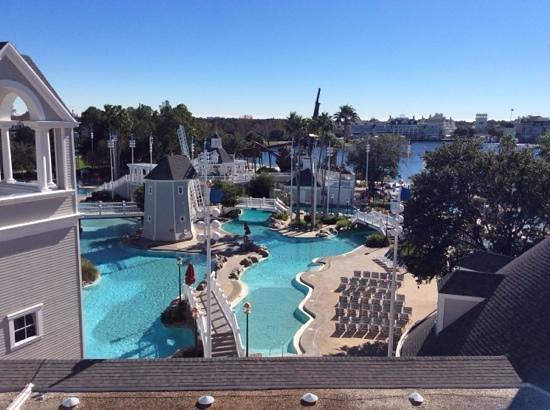Disney's Yacht Club Resort: view from 5239