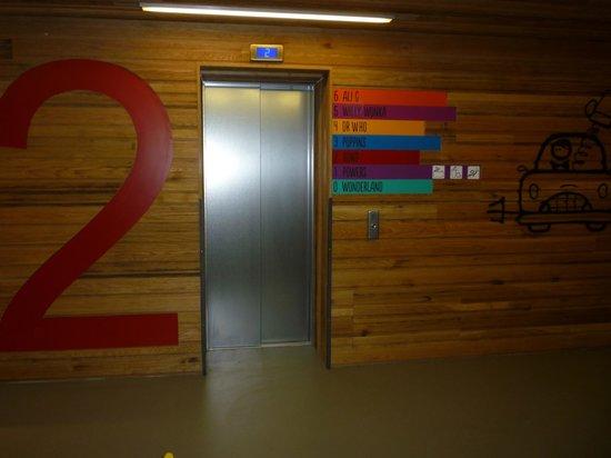 Generator Hostel London: Chaque étage a un thème lié à un film