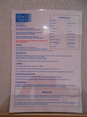 Hotel Albizia : Info