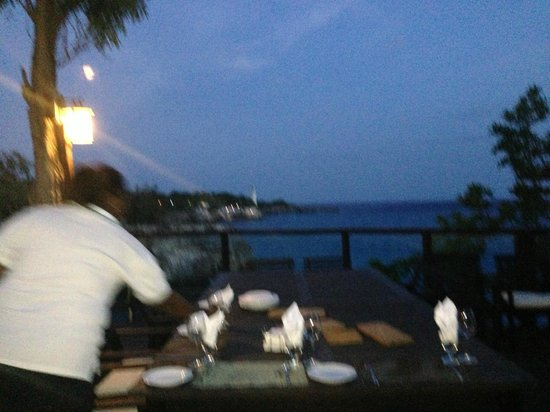 Villas Sur Mer : View from the Big Villa