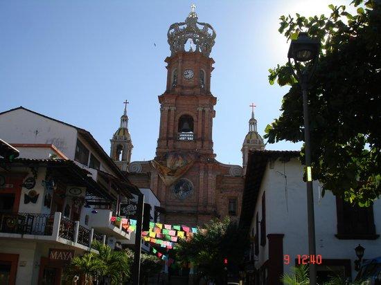 Playa Los Arcos Hotel Beach Resort & Spa: vielle église