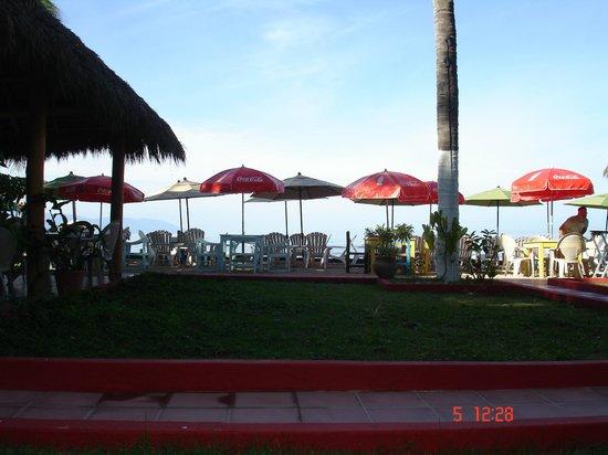 Playa Los Arcos Hotel Beach Resort & Spa: terrasse coca-cola