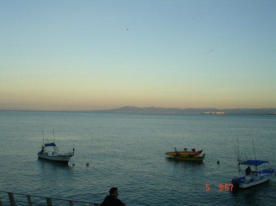 Playa Los Arcos Hotel Beach Resort & Spa: coucher de soleil