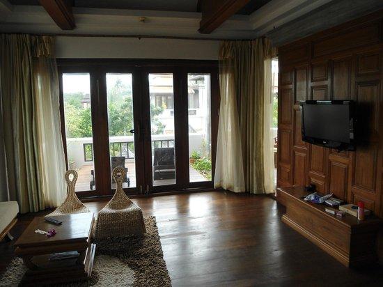 villa wohnzimmer:villa wohnzimmer : Royal Muang Samui Villas Wohnzimmer