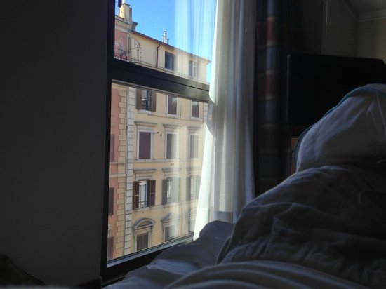 Le Meridien Visconti Rome: View from the room