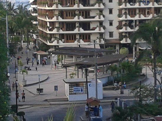 Playa Los Arcos Hotel Beach Resort & Spa: vue de ma chambre