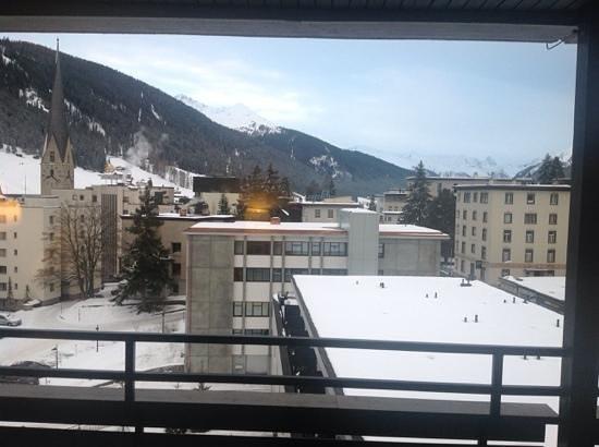 Morosani Schweizerhof Davos: balkong