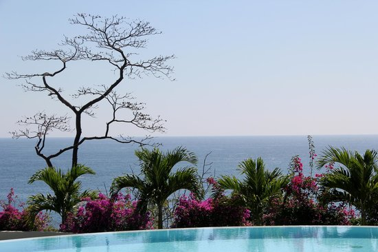 Secrets Huatulco Resort & Spa: Ocen View from Spa