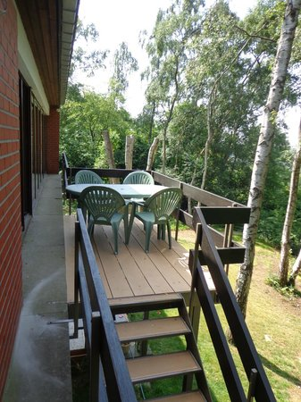 Green Hill Guest House Appartement & Chambre : Notre appartement (68m²) - balcon extérieur avec vue dominante