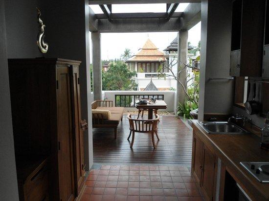 Royal Muang Samui Villas : Eingang / Durchgang zu Terrasse