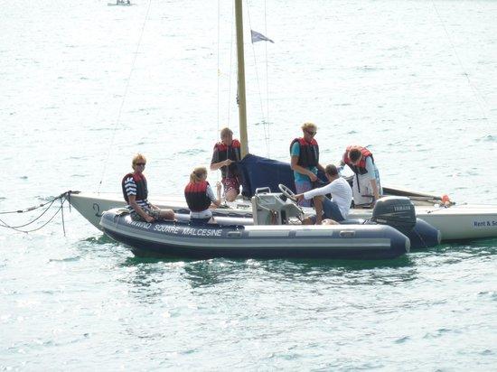 Wind Square Wassersport und Windsurfen in Malcesine: Vorbereitungen