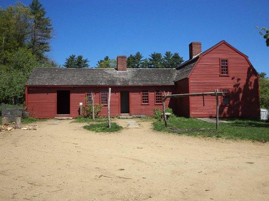 Old Sturbridge Village : The Freeman Farm  on a lovely summer day.