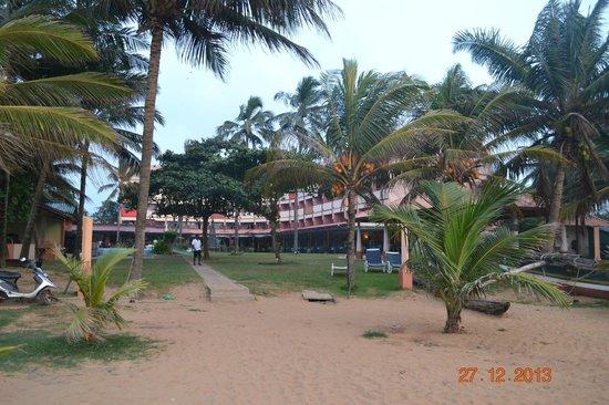 Paradise Beach Hotel: vista dalla spiaggia