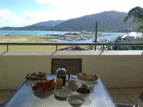 Portside Whitsunday: View from balcony