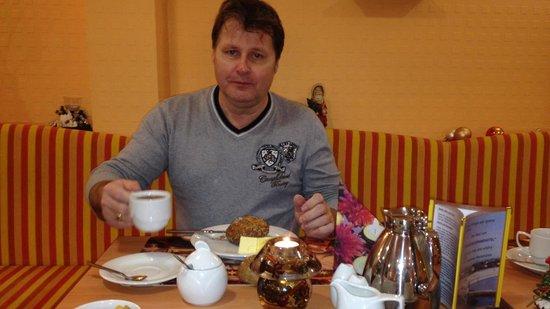Residenz Strandhotel: Frühstücksbereich