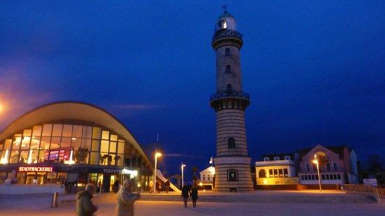 Residenz Strandhotel: Leuchturm