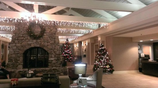 DoubleTree by Hilton Hotel Raleigh-Durham Airport at Research Triangle Park: Lobby