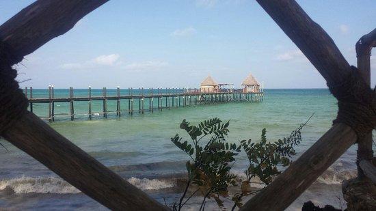 Spice Island Hotel & Resort: Pier at spice