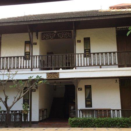 Royal Shilton Resort : rooms at the back