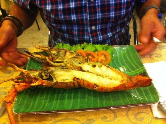 Sawasdee Restaurant: Lobster vom Grill