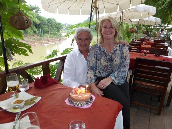 Villa Ban Lakkham : Spoilt on our anniversary