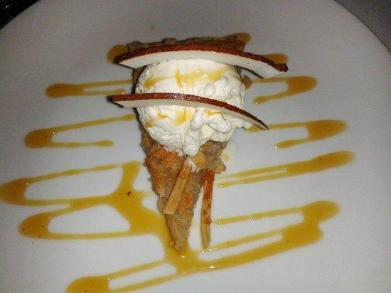 Restaurante Club de Pesca: Coco pie