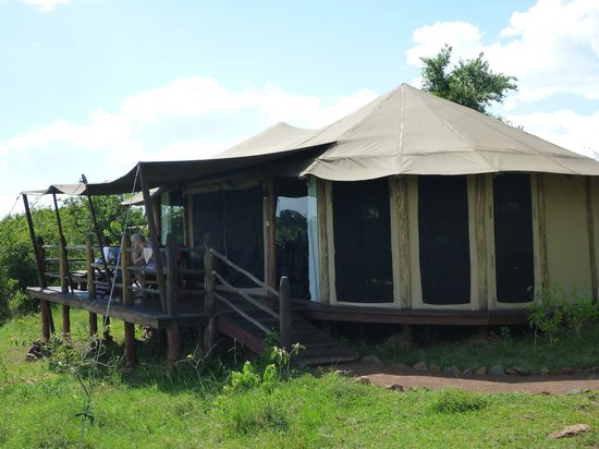 Kilima Camp: Our deluxe family tent
