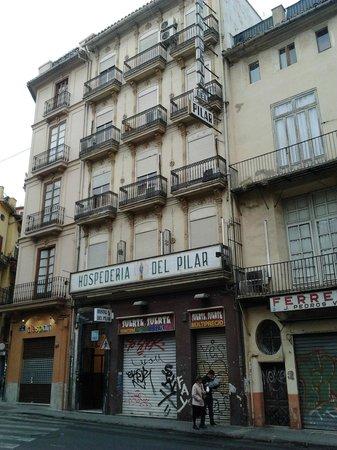 Hospedería del Pilar : Outside view