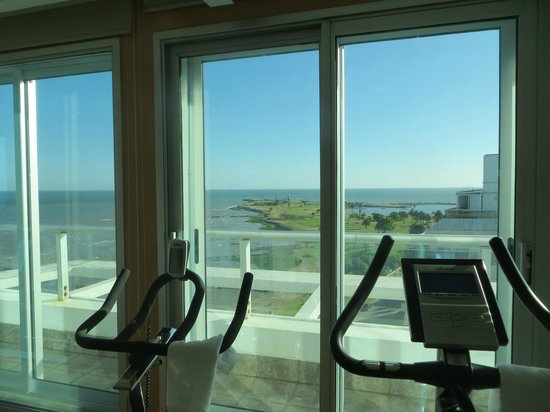 Cala di Volpe Boutique Hotel : View from Health Club