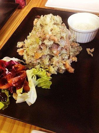 Tricota: Tartar de ahumados, para mi, uno de sus platos estrella